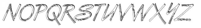DTC Van Dijk M24 Font UPPERCASE