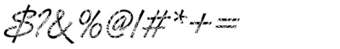 DTC Van Dijk M35 Font OTHER CHARS