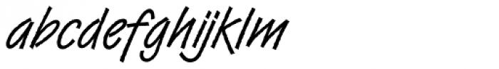 DTC Van Dijk M41 Font LOWERCASE
