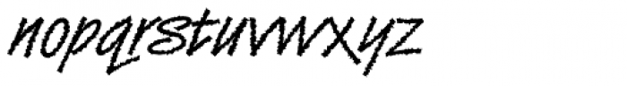 DTC Van Dijk M42 Font LOWERCASE
