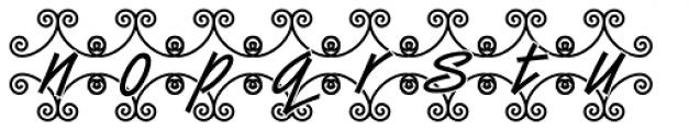 DTC Van Dijk M46 Font LOWERCASE