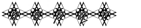 DTC Van Dijk M48 Font LOWERCASE