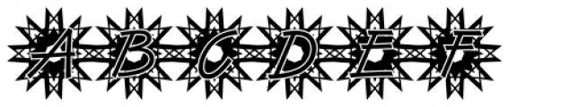 DTC Van Dijk M50 Font UPPERCASE