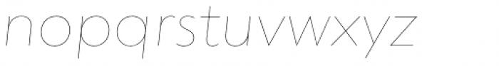 dT Jakob Hairline Italic Font LOWERCASE