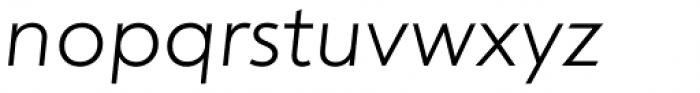 dT Jakob Light Italic Font LOWERCASE