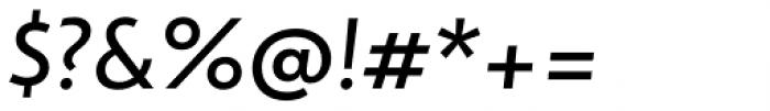 dT Jakob Regular Italic Font OTHER CHARS