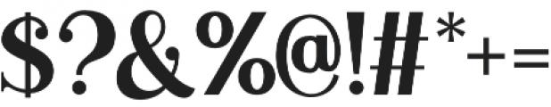 Duarose Serif otf (400) Font OTHER CHARS