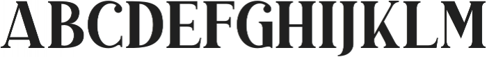 Duarose Serif otf (400) Font LOWERCASE