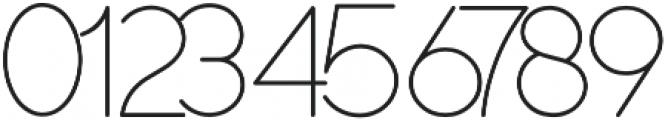 Duase otf (300) Font OTHER CHARS