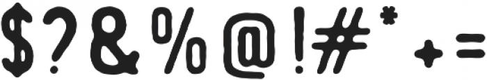 Duckymanly Sans otf (400) Font OTHER CHARS