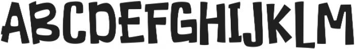 Duckymanly otf (400) Font UPPERCASE