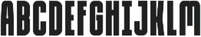 Due Credit Extra Bold otf (700) Font LOWERCASE
