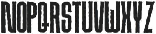 Due Credit Horror otf (400) Font LOWERCASE