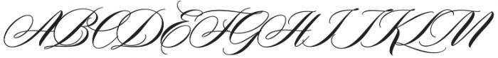 Duende otf (400) Font UPPERCASE