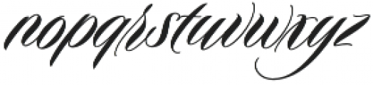 Duende otf (400) Font LOWERCASE