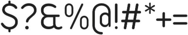 Duepuntozero Pro Book otf (400) Font OTHER CHARS