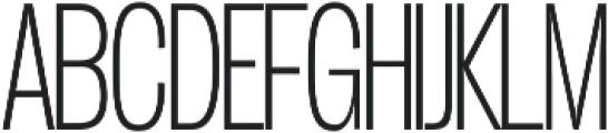 Duera Condensed ttf (100) Font UPPERCASE