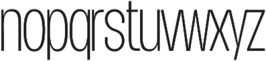 Duera Condensed ttf (100) Font LOWERCASE