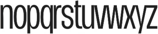 Duera Condensed ttf (300) Font LOWERCASE