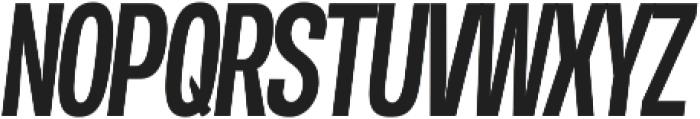 Duera Condensed ttf (500) Font UPPERCASE