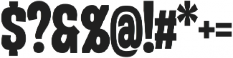 Duera Condensed ttf (700) Font OTHER CHARS