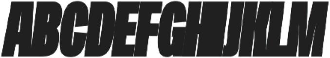 Duera Condensed ttf (900) Font UPPERCASE