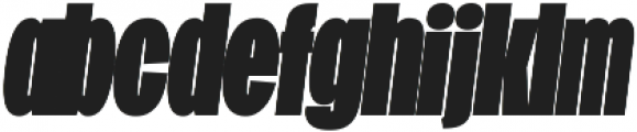 Duera Condensed ttf (900) Font LOWERCASE