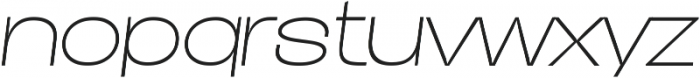 Duera Expanded ttf (100) Font LOWERCASE