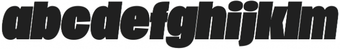 Duera Normal otf (400) Font LOWERCASE