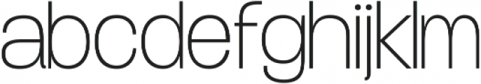 Duera Normal ttf (400) Font LOWERCASE