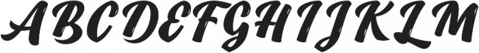 Duero otf (400) Font UPPERCASE