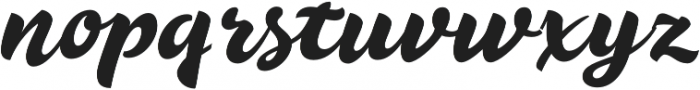 Duero otf (400) Font LOWERCASE