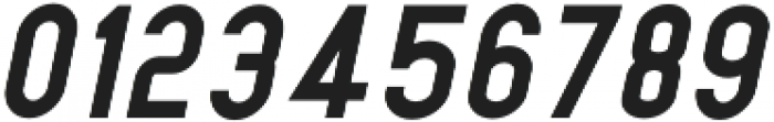 Dufranse Black Italic otf (900) Font OTHER CHARS