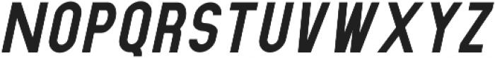 Dufranse Black Italic otf (900) Font UPPERCASE