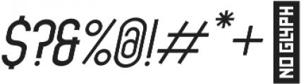 Dufranse Semi Bold Italic otf (600) Font OTHER CHARS
