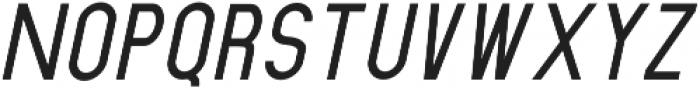 Dufranse Semi Bold Italic otf (600) Font UPPERCASE