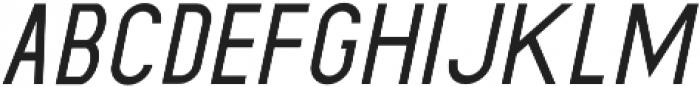 Dufranse Semi Bold Italic otf (600) Font LOWERCASE
