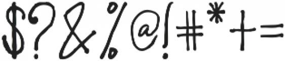 Duntget Font ttf (400) Font OTHER CHARS