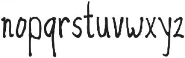 Duntget Font ttf (400) Font LOWERCASE