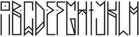 Dupliciter otf (400) Font UPPERCASE