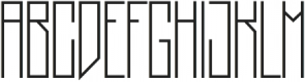Dupliciter otf (400) Font LOWERCASE