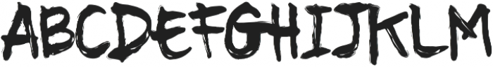 Dust otf (400) Font UPPERCASE