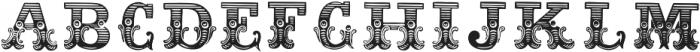 Dusty Circus Fill ttf (400) Font UPPERCASE