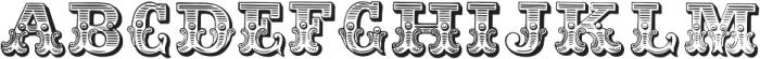 Dusty Circus Main ttf (400) Font UPPERCASE