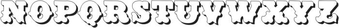 Dusty CircusCM Regular ttf (400) Font UPPERCASE