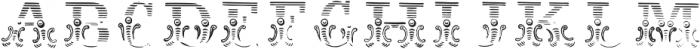 Dusty CircusCM Regular ttf (400) Font LOWERCASE