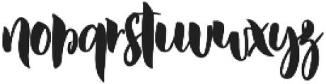 DustyLane otf (400) Font LOWERCASE