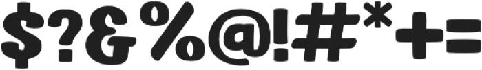 Dutch Game Font Bold otf (700) Font OTHER CHARS