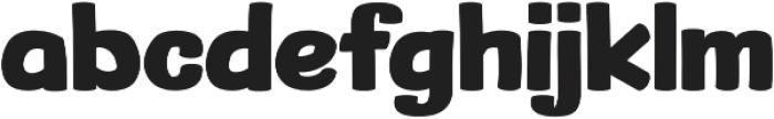 Dutch Game Font Bold otf (700) Font LOWERCASE