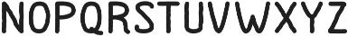 Dutchy otf (400) Font LOWERCASE